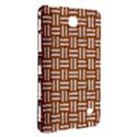 WOVEN1 WHITE MARBLE & RUSTED METAL Samsung Galaxy Tab 4 (8 ) Hardshell Case  View3