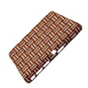 WOVEN1 WHITE MARBLE & RUSTED METAL Samsung Galaxy Tab 4 (10.1 ) Hardshell Case  View4
