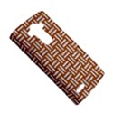 WOVEN1 WHITE MARBLE & RUSTED METAL LG G4 Hardshell Case View5