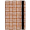 WOVEN1 WHITE MARBLE & RUSTED METAL Apple iPad Pro 9.7   Flip Case View2