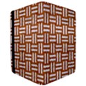 WOVEN1 WHITE MARBLE & RUSTED METAL Apple iPad Pro 9.7   Flip Case View3