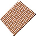 WOVEN1 WHITE MARBLE & RUSTED METAL Apple iPad Pro 12.9   Hardshell Case View5