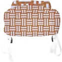 WOVEN1 WHITE MARBLE & RUSTED METAL Full Print Backpack View4