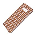 WOVEN1 WHITE MARBLE & RUSTED METAL Samsung Galaxy S8 Plus Hardshell Case  View4