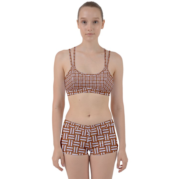 WOVEN1 WHITE MARBLE & RUSTED METAL Women s Sports Set