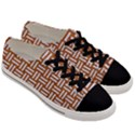 WOVEN1 WHITE MARBLE & RUSTED METAL Men s Low Top Canvas Sneakers View3