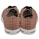 WOVEN1 WHITE MARBLE & RUSTED METAL Men s Low Top Canvas Sneakers View4