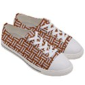 WOVEN1 WHITE MARBLE & RUSTED METAL Women s Low Top Canvas Sneakers View3