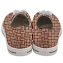 WOVEN1 WHITE MARBLE & RUSTED METAL Women s Low Top Canvas Sneakers View4