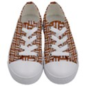 WOVEN1 WHITE MARBLE & RUSTED METAL Kids  Low Top Canvas Sneakers View1
