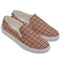 WOVEN1 WHITE MARBLE & RUSTED METAL Men s Canvas Slip Ons View3