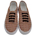 WOVEN1 WHITE MARBLE & RUSTED METAL Men s Classic Low Top Sneakers View1