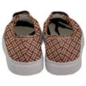 WOVEN1 WHITE MARBLE & RUSTED METAL Men s Classic Low Top Sneakers View4