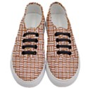 WOVEN1 WHITE MARBLE & RUSTED METAL Women s Classic Low Top Sneakers View1