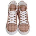 WOVEN1 WHITE MARBLE & RUSTED METAL Men s Hi-Top Skate Sneakers View1