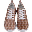 WOVEN1 WHITE MARBLE & RUSTED METAL Men s Lightweight Sports Shoes View1