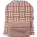 WOVEN1 WHITE MARBLE & RUSTED METAL Giant Full Print Backpack View1