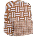 WOVEN1 WHITE MARBLE & RUSTED METAL Giant Full Print Backpack View3
