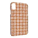 WOVEN1 WHITE MARBLE & RUSTED METAL Apple iPhone X Hardshell Case View2
