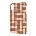 WOVEN1 WHITE MARBLE & RUSTED METAL Apple iPhone X Hardshell Case View3