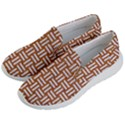 WOVEN1 WHITE MARBLE & RUSTED METAL Women s Lightweight Slip Ons View2