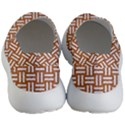 WOVEN1 WHITE MARBLE & RUSTED METAL Women s Lightweight Slip Ons View4
