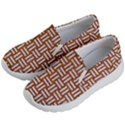 WOVEN1 WHITE MARBLE & RUSTED METAL Kid s Lightweight Slip Ons View2