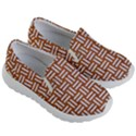 WOVEN1 WHITE MARBLE & RUSTED METAL Kid s Lightweight Slip Ons View3