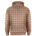WOVEN1 WHITE MARBLE & RUSTED METAL Men s Overhead Hoodie View1