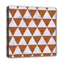 TRIANGLE3 WHITE MARBLE & RUSTED METAL Multi Function Bag View1