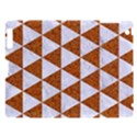 TRIANGLE3 WHITE MARBLE & RUSTED METAL Apple iPad 3/4 Hardshell Case View1