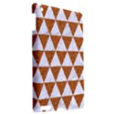 TRIANGLE3 WHITE MARBLE & RUSTED METAL Apple iPad 3/4 Hardshell Case View2