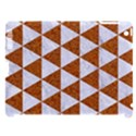TRIANGLE3 WHITE MARBLE & RUSTED METAL Apple iPad 3/4 Hardshell Case (Compatible with Smart Cover) View1