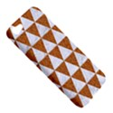 TRIANGLE3 WHITE MARBLE & RUSTED METAL Apple iPhone 5 Hardshell Case View5