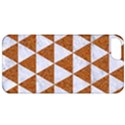 TRIANGLE3 WHITE MARBLE & RUSTED METAL Apple iPhone 5 Classic Hardshell Case View1