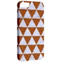 TRIANGLE3 WHITE MARBLE & RUSTED METAL Apple iPhone 5 Classic Hardshell Case View2
