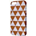 TRIANGLE3 WHITE MARBLE & RUSTED METAL Apple iPhone 5 Classic Hardshell Case View3