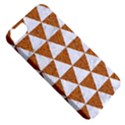 TRIANGLE3 WHITE MARBLE & RUSTED METAL Apple iPhone 5 Classic Hardshell Case View5