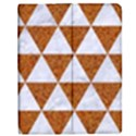 TRIANGLE3 WHITE MARBLE & RUSTED METAL Apple iPad Mini Flip Case View1