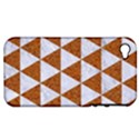 TRIANGLE3 WHITE MARBLE & RUSTED METAL Apple iPhone 4/4S Hardshell Case (PC+Silicone) View1