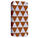TRIANGLE3 WHITE MARBLE & RUSTED METAL Apple iPhone 4/4S Hardshell Case (PC+Silicone) View2