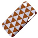 TRIANGLE3 WHITE MARBLE & RUSTED METAL Apple iPhone 4/4S Hardshell Case (PC+Silicone) View4