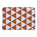 TRIANGLE3 WHITE MARBLE & RUSTED METAL Apple iPad Mini Hardshell Case (Compatible with Smart Cover) View1