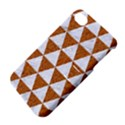TRIANGLE3 WHITE MARBLE & RUSTED METAL Apple iPhone 4/4S Hardshell Case with Stand View4