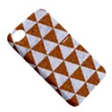TRIANGLE3 WHITE MARBLE & RUSTED METAL Apple iPhone 4/4S Hardshell Case with Stand View5