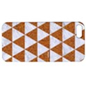 TRIANGLE3 WHITE MARBLE & RUSTED METAL Apple iPhone 5 Hardshell Case with Stand View1