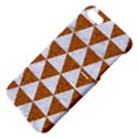 TRIANGLE3 WHITE MARBLE & RUSTED METAL Apple iPhone 5 Hardshell Case with Stand View4