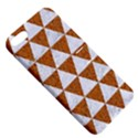 TRIANGLE3 WHITE MARBLE & RUSTED METAL Apple iPhone 5 Hardshell Case with Stand View5