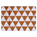 TRIANGLE3 WHITE MARBLE & RUSTED METAL Samsung Galaxy Tab 10.1  P7500 Flip Case View1