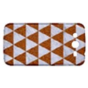 TRIANGLE3 WHITE MARBLE & RUSTED METAL Samsung Galaxy Mega 5.8 I9152 Hardshell Case  View1